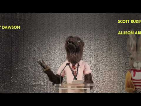 FANTASTIC MR. FOX - Wes Anderson's Animated Acceptance Speech