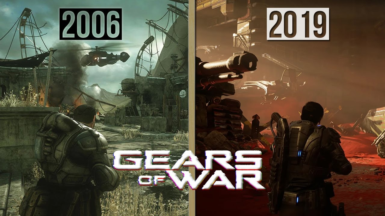 Evolution of Gears of War Games
