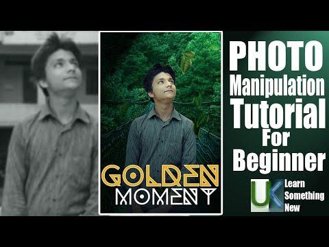 Photoshop Manipulation Tutorial For beginner thumbnail