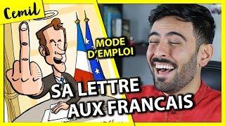 MACRON, LETTRE AUX FRANÇAIS - MODE D'EMPLOI