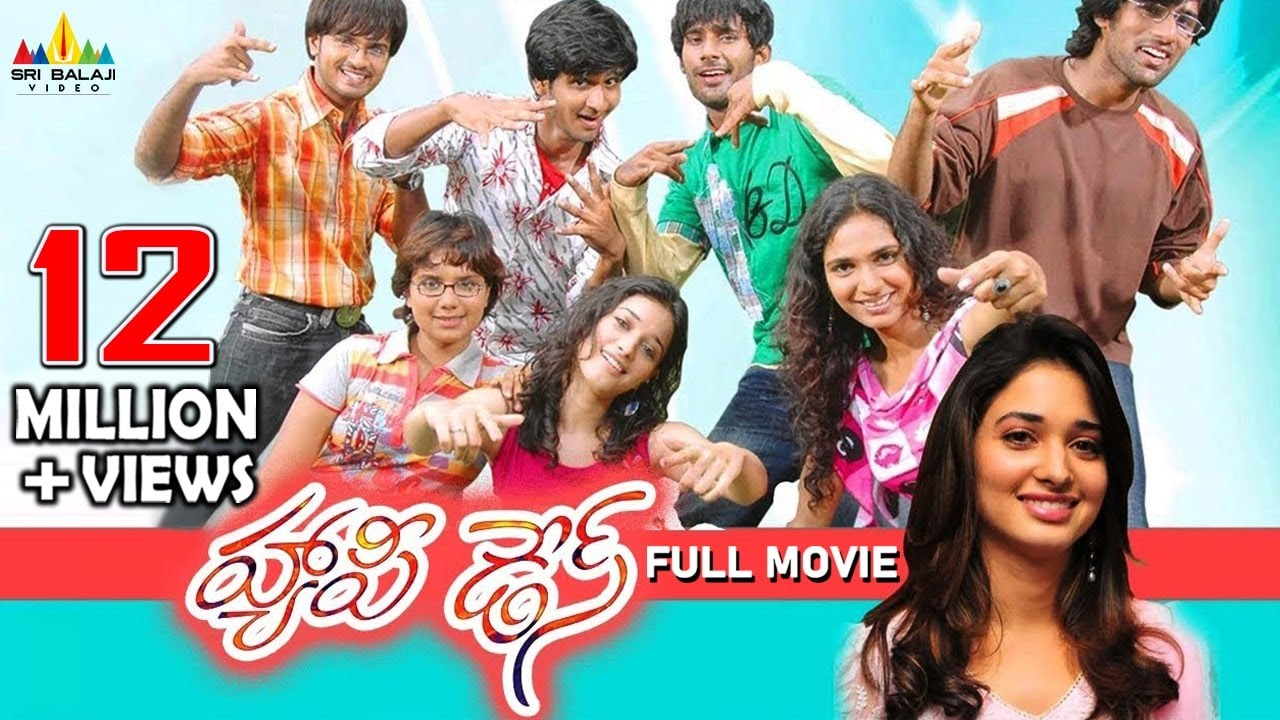 Happy Days Telugu Full Movie | Varun Sandesh, Tamannah, Nikhil | Sri Balaji Video