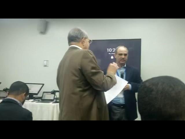 Franklin Almeyda y Robert de la Cruz se enfrentan en reunión con la JCE (1)