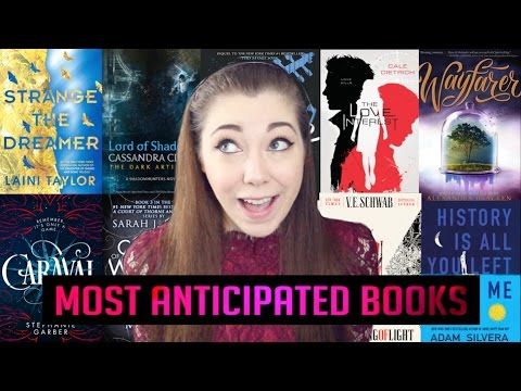 MOST ANTICIPATED BOOKS OF 2017