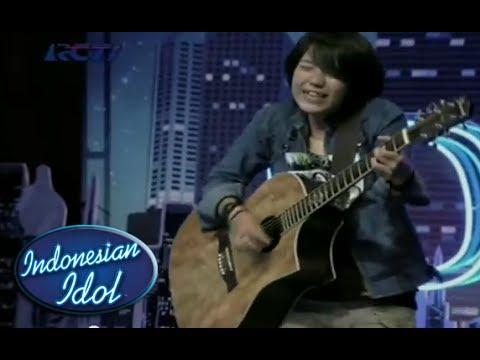 RISKA AFRILIA - Tak Lagi Galau - Indonesian Idol 2014 | dengan Lirik