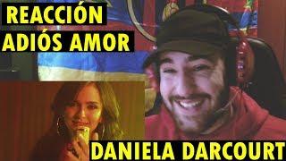 Adiós Amor - Daniela Darcourt (Video Oficial) (REACCIÓN)