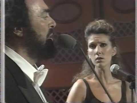 Celine Dion & Luciano Pavarotti