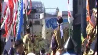 2009年10月4日ぎふ信長まつりでのパレードです。信長役は伊藤英...