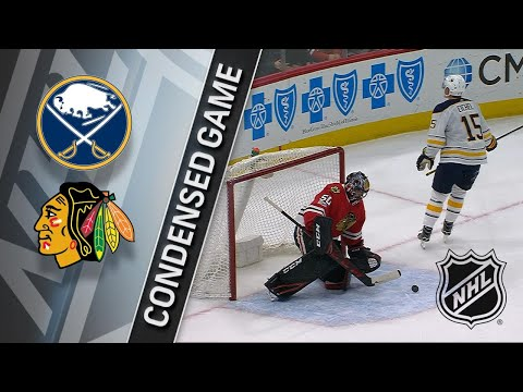 12/08/17 Condensed Game: Sabres @ Blackhawks