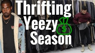 THRIFTING! DRESS LIKE KANYE WEST FOR CHEAP!!