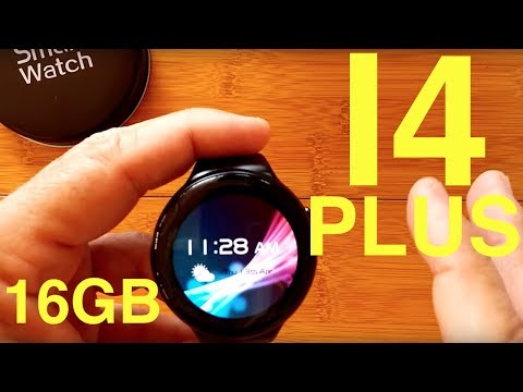 IQI Tech's I4 Android 5.1 1GBRAM/16GBROM Round Smartwatch: Unboxing and 1st Look