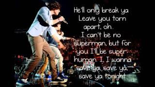 One Direction - Save you tonight lyrics FULL SONG