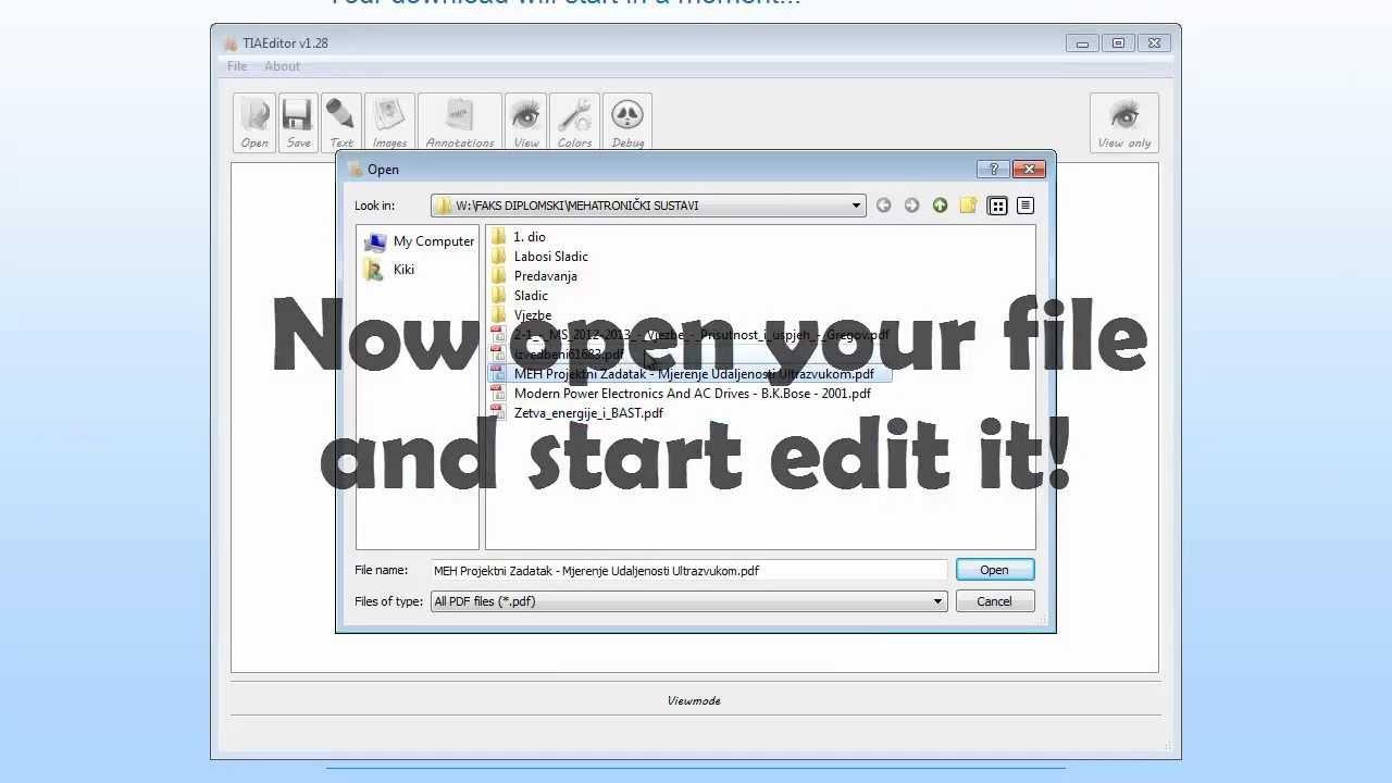 Free PDF Editor - PDF Converter & Best Editor