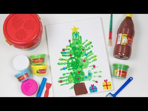 Manualidades Navidenas Para Ninos De Tres Anos.Dibujo Arbol De Navidad Manualidades De Navidad Para Ninos