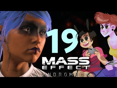 MASS EFFECT ANDROMEDA - 2 GIRLS 1 LET'S PLAY PART 19: RUDE