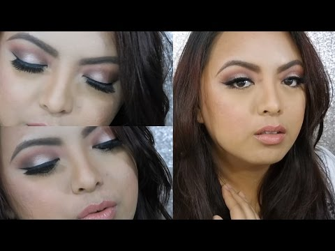 Romantic Halo Eyes (Wedding Makeup / Bridal Makeup) – Tutorial | MaraiahCrystal