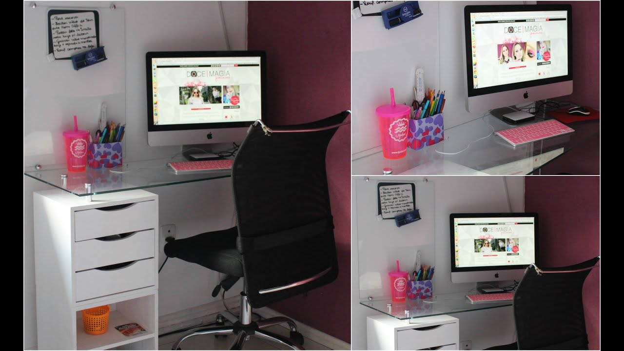Home office tour youtube - Designing and decorating home office in smart way ...