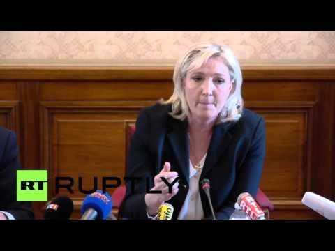 France: Le Pen promises 'Frexit,' heralds Dutch EU-Ukraine no vote