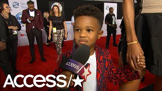 Ciara's Son Future Zahir Adorably Steals The Spotlight During Her 2018 AMAs Interview | Access Video