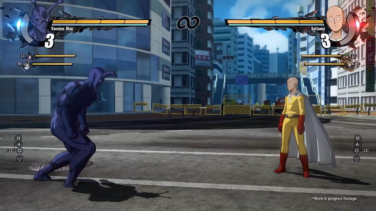 Znalezione obrazy dlazapytania One Punch Man: AHero Nobody Knows
