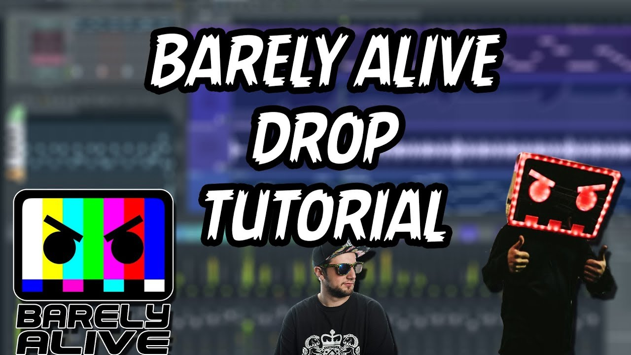 HOW TO MAKE A BARELY ALIVE DROP | FREE SERUM PRESET!!!