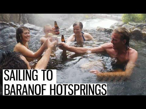 Baranof Hot Springs | Most beautiful Place in Alaska | Sailing Alaska | Season 3 EP4