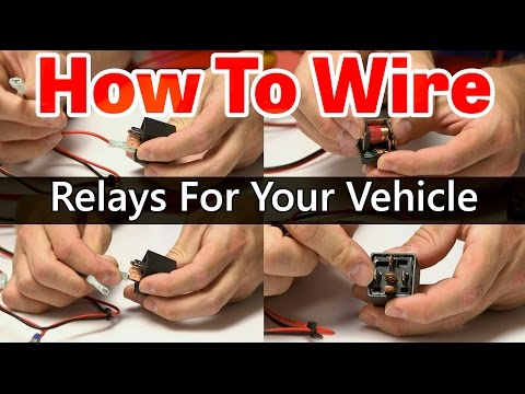 Switches Relays and Wiring Diagrams 2 YouTube