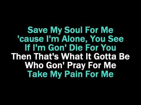 Pray for Me Karaoke The Weekend ft Kendrick Lamar