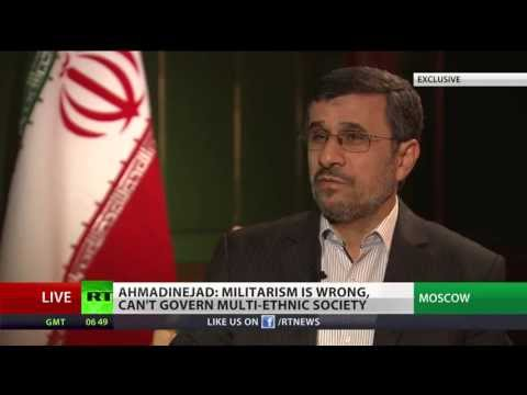Iran's outgoing president Mahmoud Ahmadinejad talks to RT (Short version)