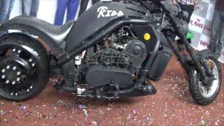 Rido Handmade 1000cc Motorbike - Auto Show 2015 Rajkot india