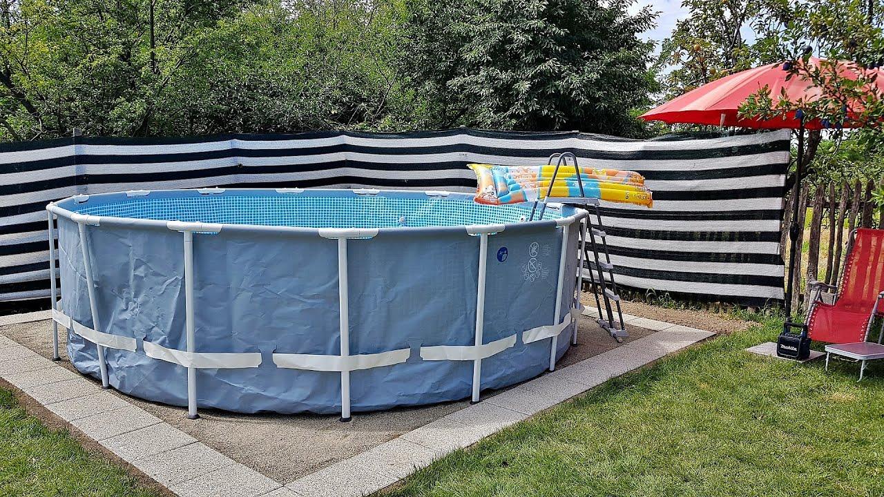 Pregatire suprafata pentru piscina