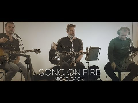 [LIVE] Song on Fire - Nickelback - Rockklassiker