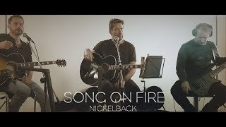 [LIVE] Song on Fire - Nickelback - Rockklassiker