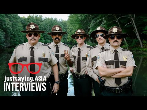 Jay Chandrasekhar, Steve Lemme and Rob Lowe Talk Super Troopers 2