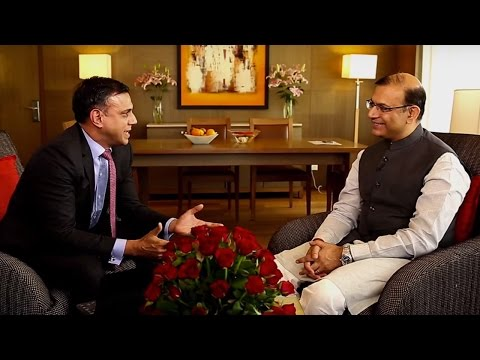 Interview with Honourable Minister of State for Finance Mr. Jayant Sinha