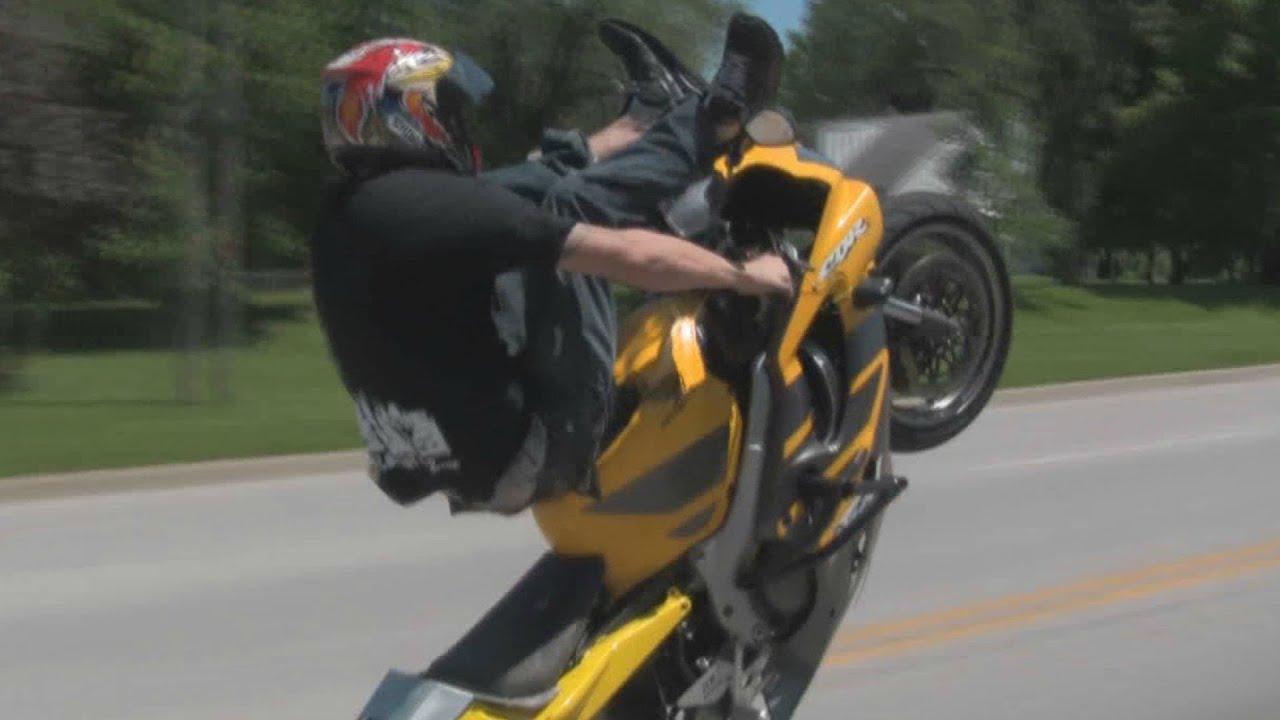 Insane Bike Stunts B4 Blox Starz Street Session Honda Cbr 600