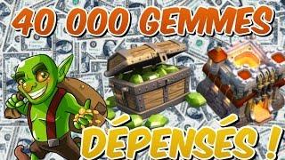 ON GEMME TOUS (40 000) / MAJ HDV 11 Décembre ! Clash Of Clans FR