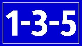 1-3-5 Rule That