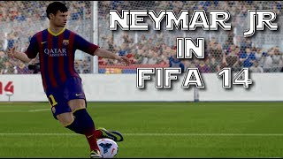 「 Fifa 14 Tribute 」Neymar 11 ► Is Back ||HD||