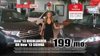 Andy Mohr Toyota Commercial Mckenzie Roth