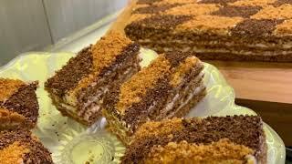 К Новогоднему столу Торт Кутузов Cake Kutuzov Թխվածք Կուտուզով