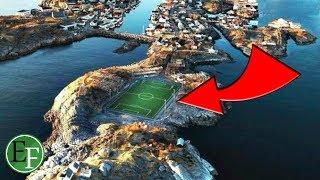 أغرب ملعب كرة قدم في العالم لن تصدق انه موجود في عالمنا