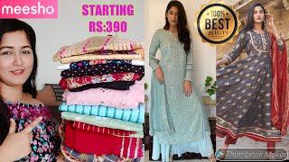 Meesho Designer Kurta Set Haul Start Rs:390    New Collection    Meesho Shopping Haul #meesho screenshot 2