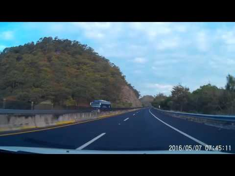 Guadalajara - Mazatlan highway 5:30 hours in 35 minutes.