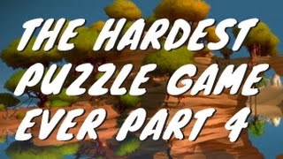 The hardest puzzle game the witness 4