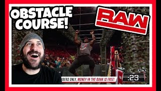 REACTION   BOBBY LASHLEY VS SAMI ZAYNS MILITARY OBSTACLE COURSE!!!   WWE RAW JUNE 11, 2018