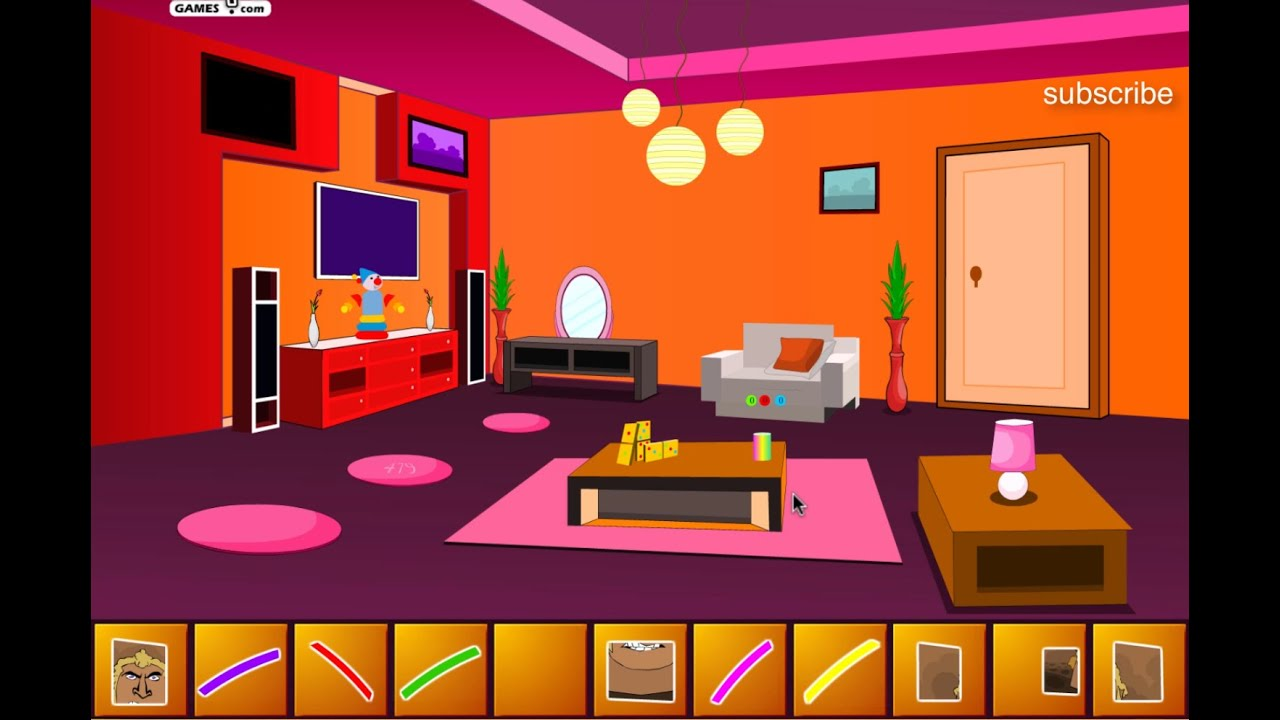 Escape From Appartment Livingroom Cartoon Games