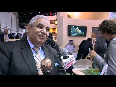 Abdin Nasralla, Vice President, The Meydan Hotel @ ATM 2011