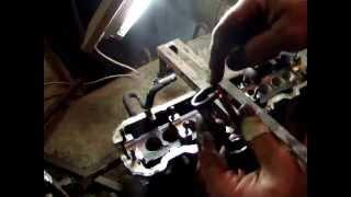 VW T4 Снятие клапанов,замена маслосьёмных колпачков и втулок клапанов