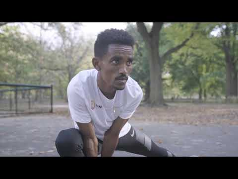 Geoffrey Kamworor & Ghirmay Ghebreslassie at New York City Marathon