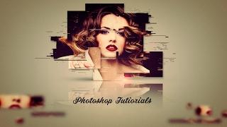Уроки по фотошопу | Интересная фотоманипуляция (БЕСПЛАТНЫЙ ШАБЛОН!)